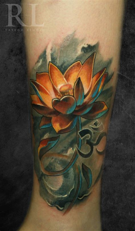 awesome lotus tattoo designs