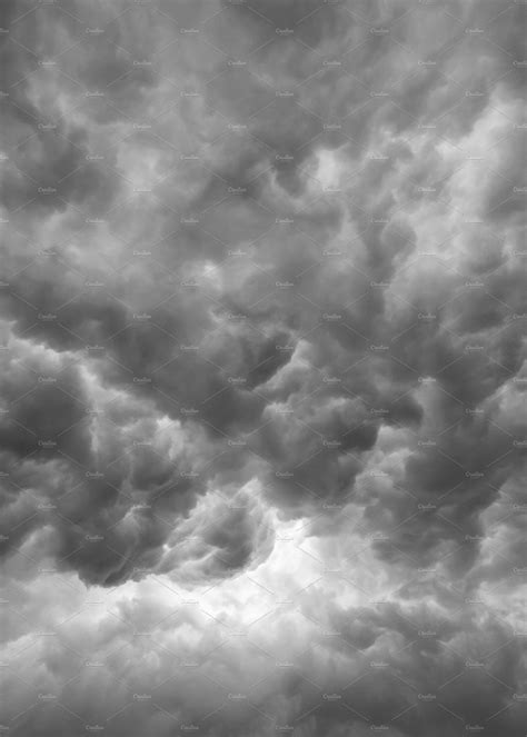 clouds as background