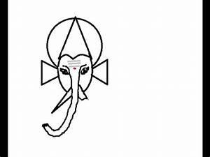 Simple Ganesha Face Drawing | www.pixshark.com - Images ...