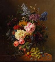 Flowers and Vase Painting