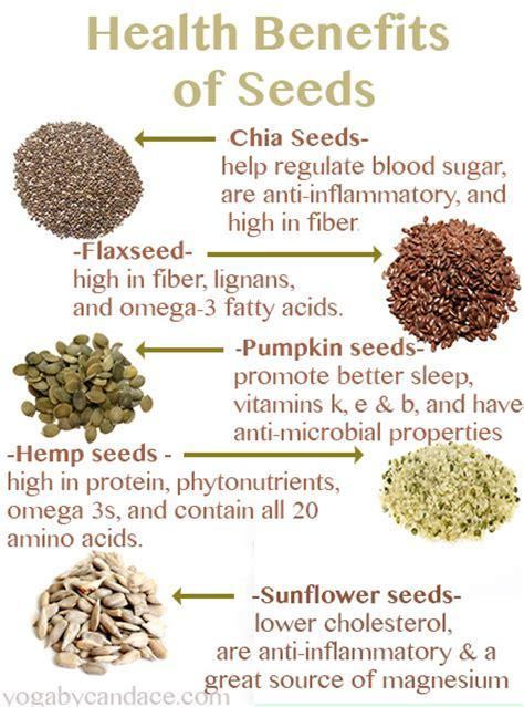 Healthy Seed Bar health benefits of seeds yogabycandace
