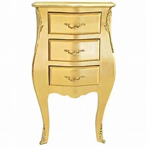 Table De Nuit Miroir : table de nuit chevet commode baroque troite bois dor ~ Teatrodelosmanantiales.com Idées de Décoration