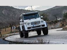First Drive MercedesBenz G Class G500 4x4^2 5dr Tip Auto