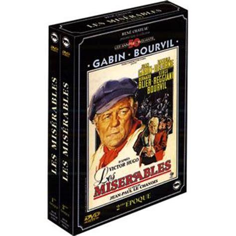 jean gabin dvd coffret les mis 233 rables dvd zone 2 jean paul le chanois