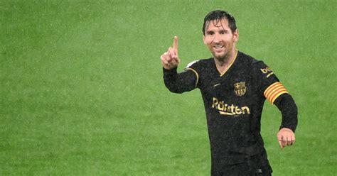 La Liga: Lionel Messi, Ansu Fati lead ten-man Barcelona to ...