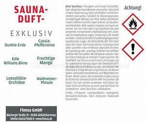 Saunaaufguss Wieviel Wasser : sauna aufguss konzentrat exclusiv ~ Whattoseeinmadrid.com Haus und Dekorationen