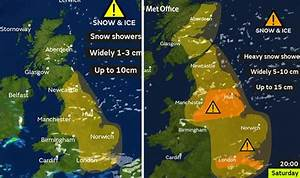 Met Office weather warnings: Snow as Beast from the East 2 ...