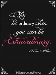 31 Extraordinary Days Be Extraordinary An