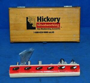 hickory woodworking  piece carbide starter set  shank