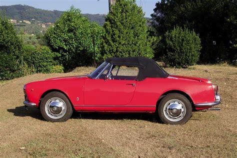 Alfa Romeo Giulia Spider by Alfa Romeo Giulia Spider 1600 1963 Auto Classiche