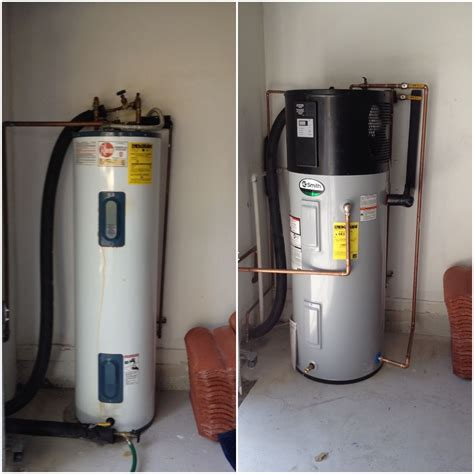 Ao Smith Hybrid Heat Pump Water Heater Installed In