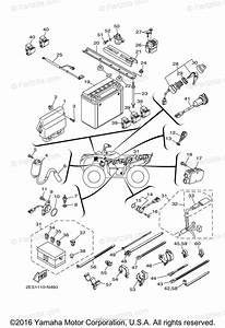 Yamaha Atv 2015 Oem Parts Diagram For Electrical