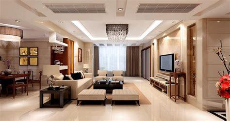 Wohn Esszimmer Luxus Wohnzimmer E über Weiß Konzept Beige
