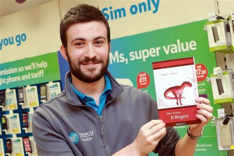 gloucester tesco worker sees dino adventure book published