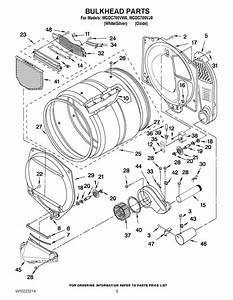 Parts Diagram For Maytag Neptune Dryer