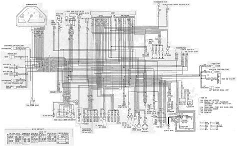 2005 Cbr600rr Wiring Diagram by Honda Cbr1000rr Motorcycle Wiring Diagram All About