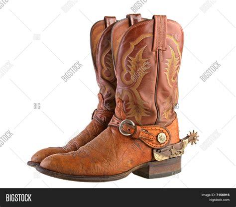 Cowboy Boots Spurs Image - cg7p156916c