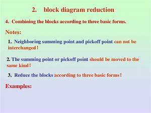 Significance Of Block Diagram And Signal Flow Graph In
