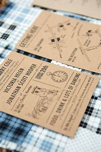 industrial meets country rustic wedding brown paper With brown paper wedding invitations uk