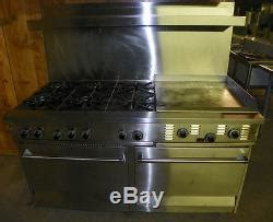 Garland Commercial/ Residential Gas Range Model R284 ir 24g