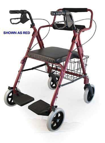 300 lb capacity rollator transport chair combo bantex transport rollator walker chair wheelchair 3 in