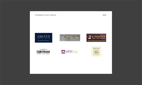 design presentation deck for lionhead branding logo idapostle