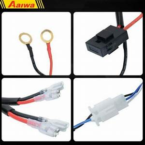 Wiring Harness Switch Relay Kit For Connect 2 Led Work
