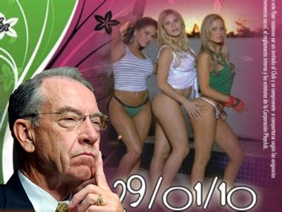 Sen. Chuck Grassley Says Those Colombian Prostitutes The