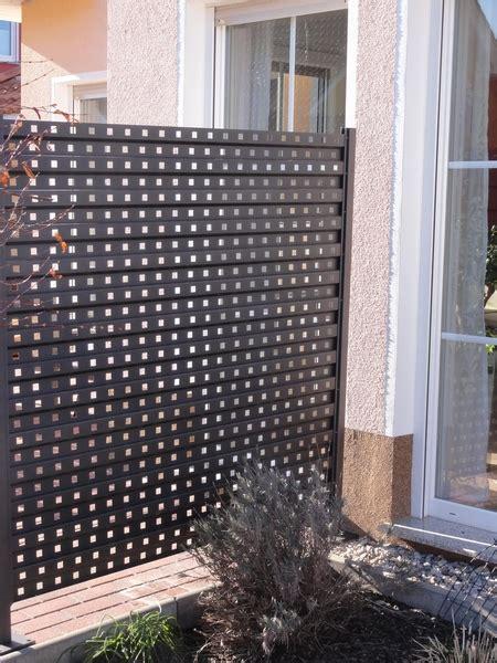 Sichtschutz Aus Metall by Sichtschutz Aus Metall 1 7 M Lang Und 1 7m H 246 He