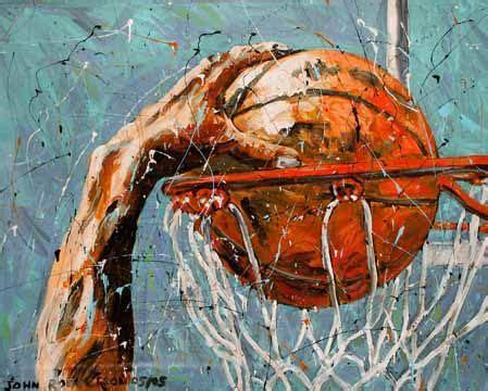 pin   sports wonk  basketball sports painting
