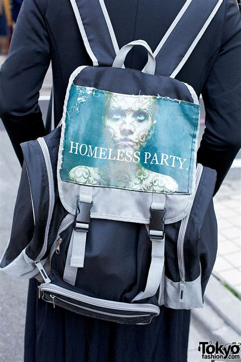 givenchy clown shirt  hat homeless party backpack
