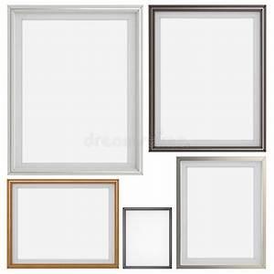 Ensemble Cadre Photo : ensemble du cadre 3d moderne vide sur le fond de texture photo stock image du trame ~ Teatrodelosmanantiales.com Idées de Décoration