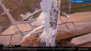 SpaceX launch scrubbed in final minute of countdown ...