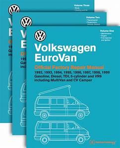 Volkswagen Eurovan Official Factory Repair Manual 1992