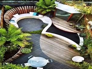 piccolo giardino rettangolare Decorazioni Per La Casa