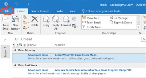 create  email signature  outlook
