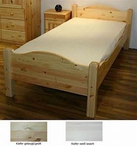 Bett Holz 90x200 : bett 90x200 hohes fu teil kiefer massiv ~ Markanthonyermac.com Haus und Dekorationen