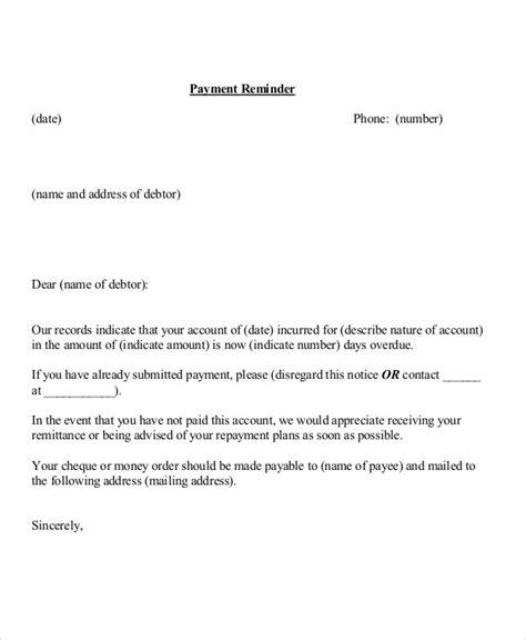 rent reminder letter sample letter giving notice
