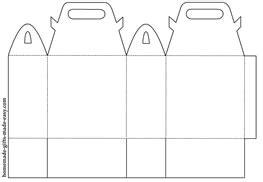 Handbag Gift Box Template by Printable Gift Bag Templates Bags With Handles
