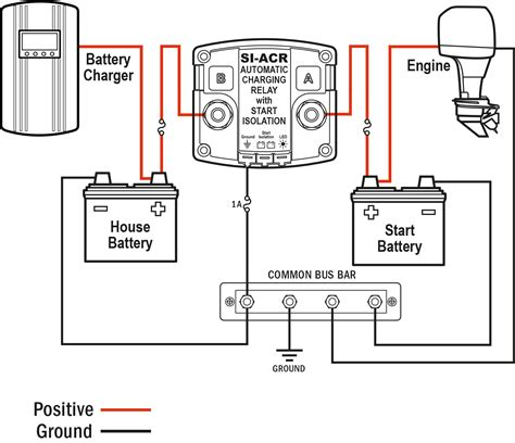 Acr Automatic Charging Relay Blue