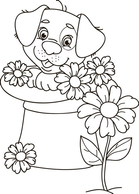 50+ Free Cute Puppy Coloring Pages Updated (October 2020)