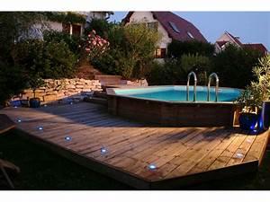1000 idees sur le theme eclairage piscine hors sol sur With attractive terrasse en bois pour piscine hors sol 7 installer une mini piscine
