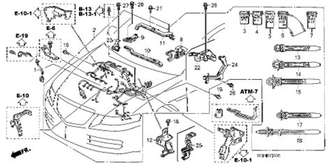 Acura Online Store Engine Wire Harness Parts