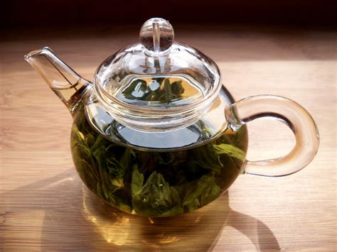 Tea Leaves Steeping  I Love Using This 6ounce Teapot