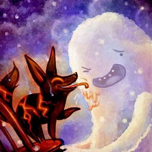 Adventure Time: Snow Golem and Fire Wolf by Sleepwalks on ...