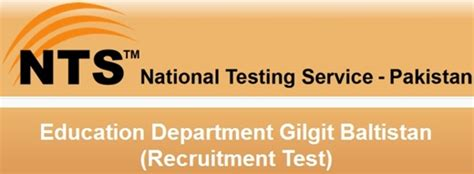 s駱aration bureau gilgit baltistan education department teachers nts test 2018 preparation mcq 39 s syllabus