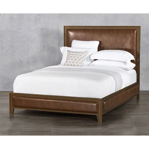 wesley allen 1231 upholstered beds avery surround