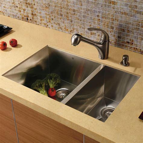 vigo kitchen sink 20 quot au courant quot stainless steel sinks abode 3149