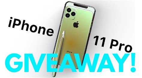 chance iphone pro giveaway