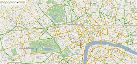 google maps offline mashup prints london top tourist